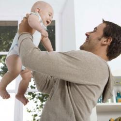Le rôle du père après la naissance du bébé