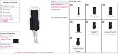 Créez vos vêtements en 2 clics